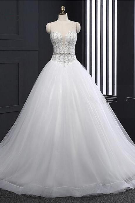Bridal Sexy Luxury Ball Gown Wedding Dresses Princess Wedding dress Bridal Wedding Gowns